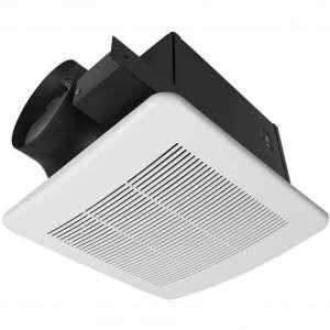 """BV Ultra-Quiet 140 CFM, 1.0 Sones Bathroom Ventilation & Exhaust Fan,6"""" Duct Collar"""