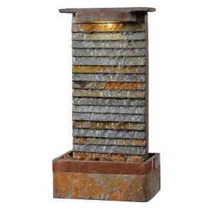 Kenroy Home Indoor Waterfall Fountain – Rustic