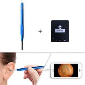 Ear Wax Removal Kit, WIFI Ear Spoon Endoscope Otoscope, USB Digital Microscope Ear Visual Cleaner, Suitable