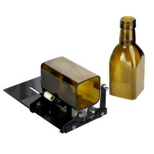 Fixm Glass Bottle Square & Round Bottle Cutter