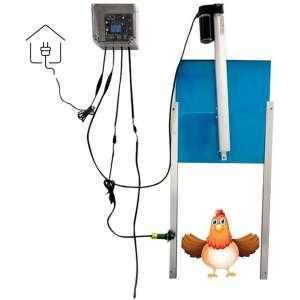 GOLDEN ELEPHANT Automatic Chicken Coop Door Opener Kit - Electric Auto Chicken Guard Door