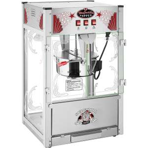 Majestic Popcorn Machine- Commercial Style Popcorn Popper Machine-Makes Approx