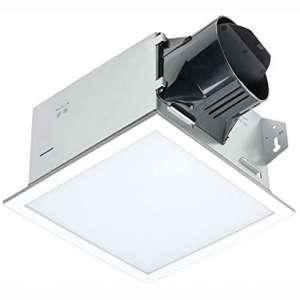 Delta BreezIntegrity ITG100ELED 100 CFM Exhaust Bath Fan:Dimmable Edge-lit LED Light