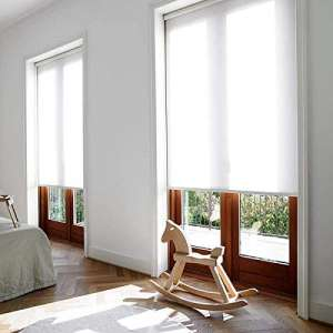 Manual:Motorized Window Sunscreen Solar Roller Blinds Curtain(Standard) Websize Priced at Manual