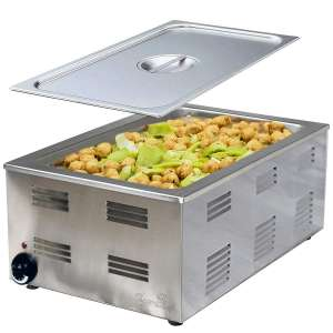 Tiger Chef Food Warmer - Full Size Countertop Food Warmers