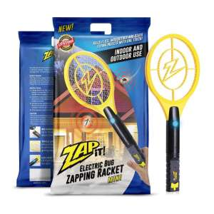 ZAP IT! Rechargeable Mini Bug Zapper Racket