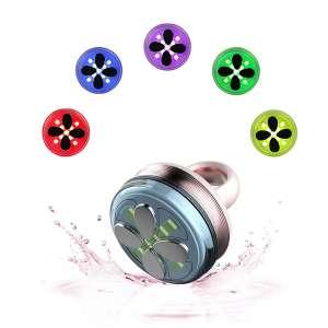 Aphrona multi function Facial Massager 5 color LED Light heating vibration massager