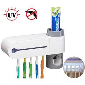 Sooyee UV Toothbrush Holder, 5 Toothbrush Sterilizer Holder