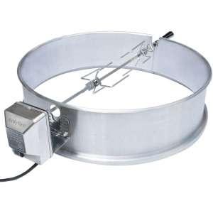 onlyfire Universal Stainless Steel Charcoal Kettle Rotisserie Ring Kit