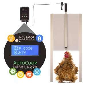 Incubator Warehouse AutoCoop Smart Door Kit, Fully Automatic Chicken Coop Door