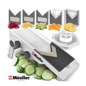 Mueller Austria Premium Quality Multi-Blade Vegetable Slicer