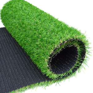 RoundLove Artificial Grass Turf Patch Tone Synthetic Grass Mat Drainage Holes