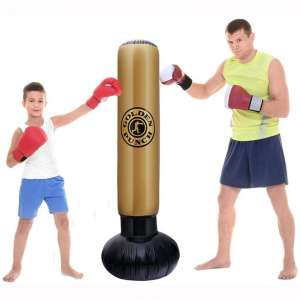 AA-fashion Freestanding Boxing Punching Bag for Adults Children Thickened Fitness Exercise Heavy Punching Bag