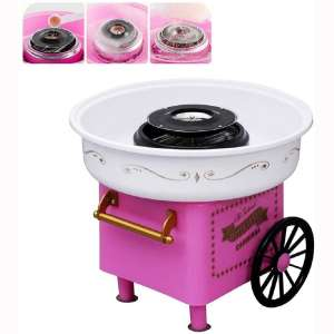 ANCROWN Cotton Candy Machine, Sugar Floss Maker, Portable Mini Electric DIY Sweet Device for Kids in Party at Home