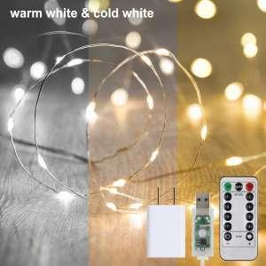 DOOK 33Ft 100Led Fairy Lights