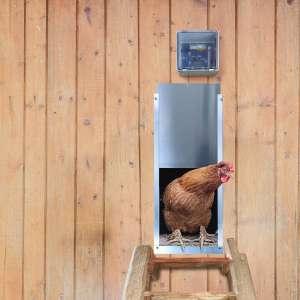 Rural365 Automatic Chicken Coop Door - Electronic Chicken Coop Door Automatic