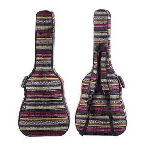ZHRUNS 40 41 Inches Guitar Acoustic Soft Foam Padded Bag