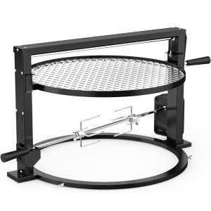 onlyfire Santa-Maria Style Grill Rotisserie System Adjustable Cooking Grate Attachment