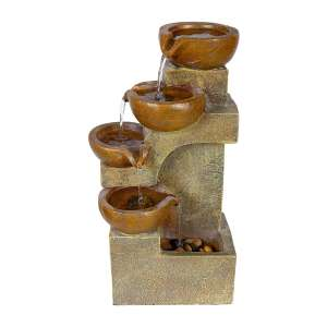 Alpine Corporation Pots Fountain