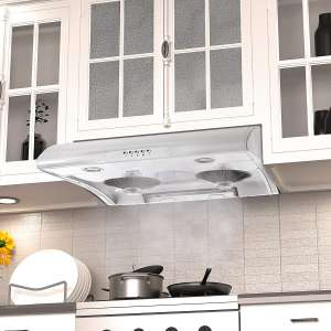 Blue Ocean 30 RH76PHUC White Color Stainless Steel Under Cabinet Kitchen Range Hood