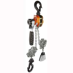 "CM 602 Series Mini Ratchet Lever Chain Hoist, 6-19 64"" Lever, 550 lbs Capacity, 5' Lift Height"