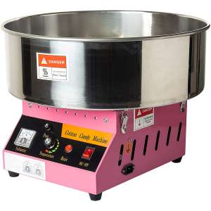 Display4top Tabletop Commercial Electric Cotton Candy Machine