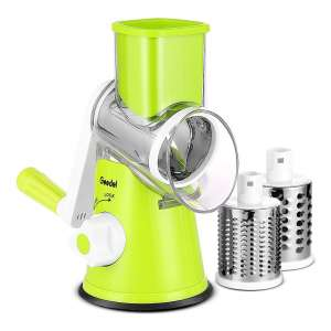 Geedel Rotary Cheese Grater 3 Interchangeable Blades