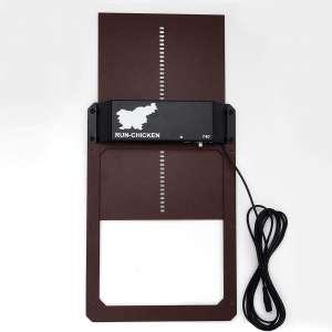 Run-Chicken Model T12, Automatic Chicken Coop Door, Full Aluminum Doors