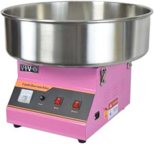 VIVO Pink Electric Commercial Cotton Candy Machine, Candy Floss Maker (CANDY-V001)