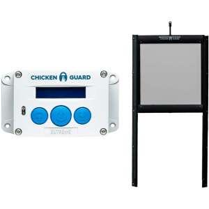 ChickenGuard Waterproof Automatic Chicken Coop Door Opener