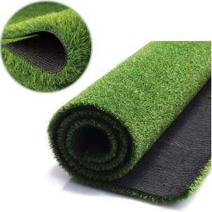 FANSRON Artificial Grass Turf (32IN X80IN), for Iindoor Outdoor Landscape, Balcony, Door Mat, Floor MatCarpet