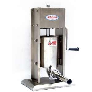 Hakka 7 Lb;3 L Sausage Stuffer 2 Speed Stainless Steel Vertical 5-7 Lb Sausage Maker