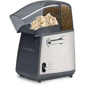 West Bend 82700 Demand Popper Machine Pops Up to 4-Quarts Popcorn Using Hot Air