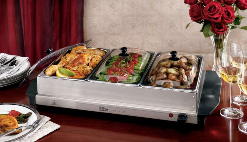 image feature Buffet Server and Warming Trays