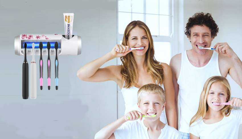 image feature Toothbrush Sanitizer Holders