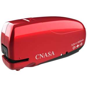Build-in Staple Remover, Electronic Automatic Staplers, CNASA Battery Rechargeable Stapler Jam-Free for Office School Home
