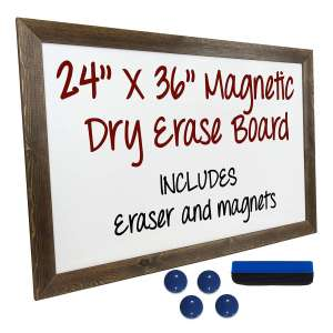 Excello Global Products Magnetic White Board