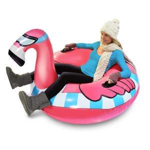GoFloats Inflatable Winter Snow Tube