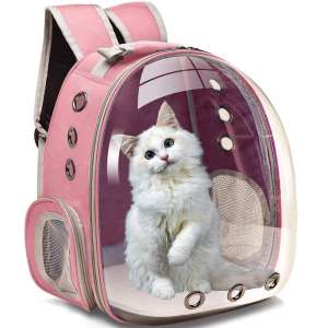Henkelion Cat Carrier Dog Carrier Backpack, Back Pack Front Pack for Small Medium Cat Puppy Doggie
