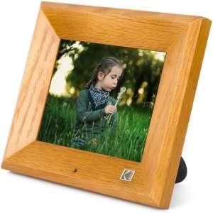 KODAK 8 inch Digital Photo Frame with 1280x800 IPS Screen 8GB Internal Storage with Photo Music Video Function
