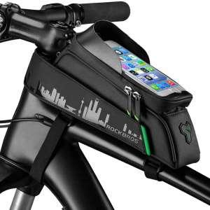ROCK BROS Bicycle Mount,Top Tube Fingerprint ID Compatible