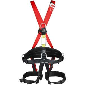 YaeCCC Full Body Harness with Catches for High Lines and Climbing Towers