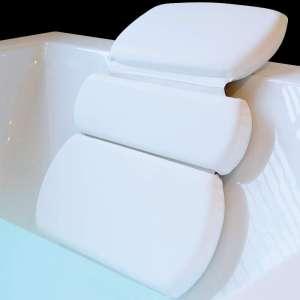 Gorilla Grip Original Spa Bath Pillow Features Powerful Gripping Technology