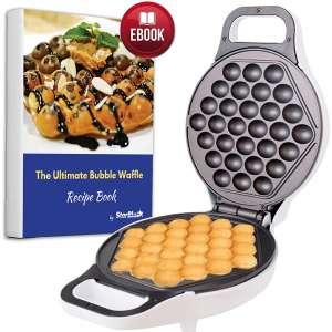 Hong Kong Egg Waffle Maker with BONUS recipe e-book
