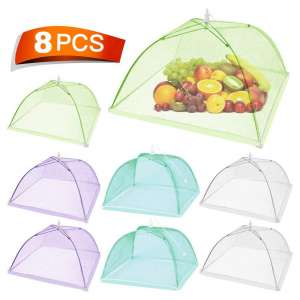Keeygo Food Cover 8 Pack Large Pop-Up Tents