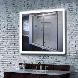 MAVISEVER 36 X 36 Inches LED Lighted Bathroom Mirror