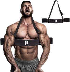 RIMSports Arm Blaster for Biceps and Triceps Arm Blaster for Weight Lifting Bicep Blaster and Bicep Curl Support