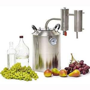 SPEAKEASY 5 Gallon Moonshine Still for Whiskey Bourbon Vodka Brandy Alcohol | Home Brewing DIY Kit Distiller