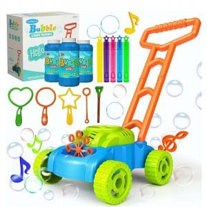 JUMELLA Automatic Bubble Mower with Music