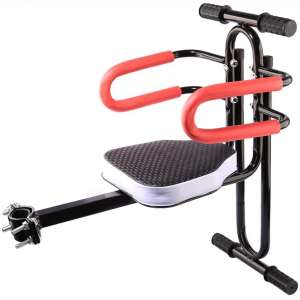 PeleusTech Bicycle Child Seat Bike Front Mount Child Set with Armrest Guard Bar and Pedal for Bicycle Electrombile